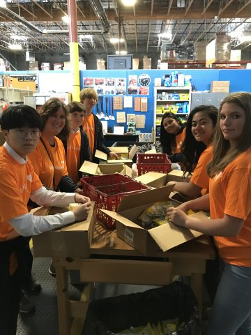Community Service at World Vision